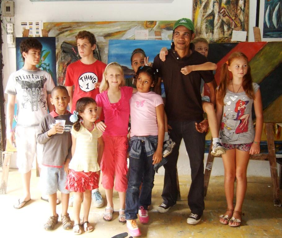 Leo Diaz Art Profesor Sosua