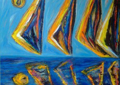 'Velas y reflejos II